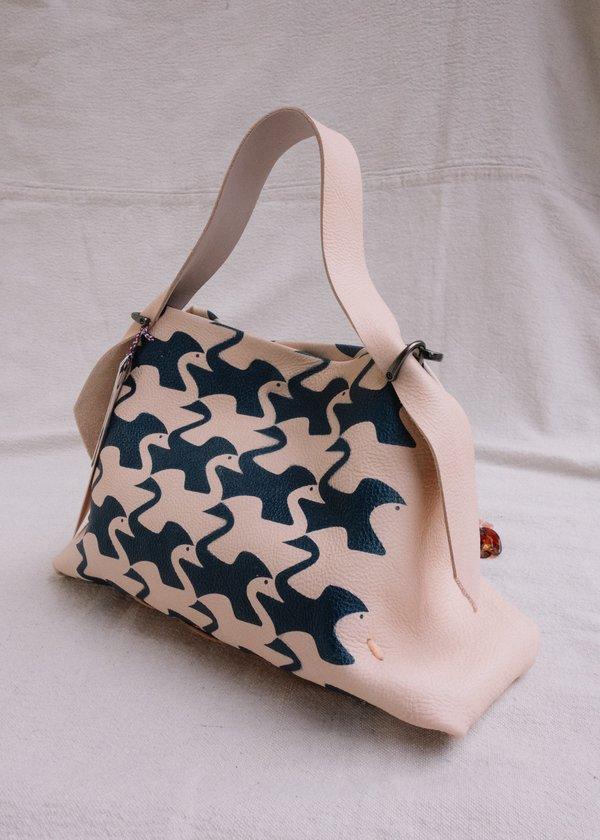 Escher Swan Bag