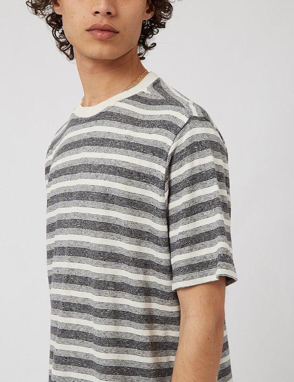 Oliver Spencer Box T-Shirt - Netley Grey