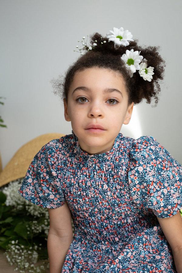 Kids Devon's Drawer Crocus Dress - Floral
