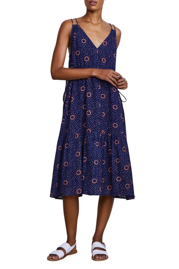 Apiece Apart Daphne Dress - Shibori Dot