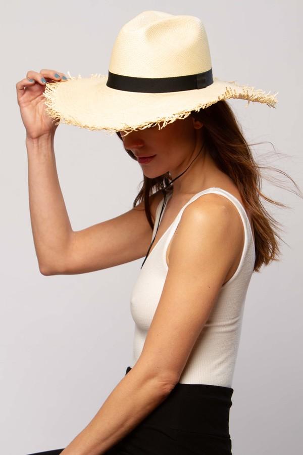 Greenpacha Montauk fedora hat - natural