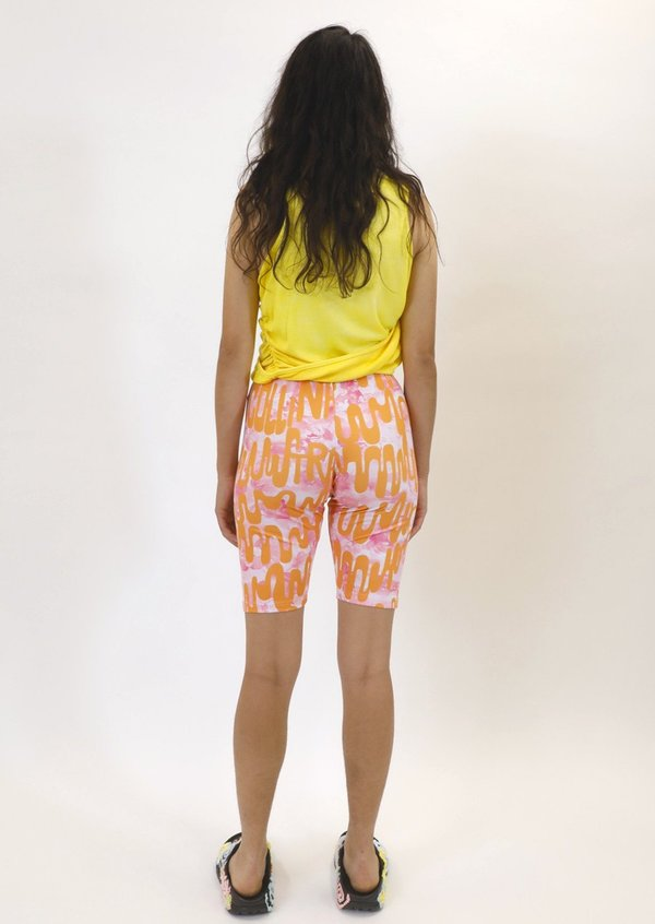 Collina Strada Photo Bike Shorts - Loopy Pink