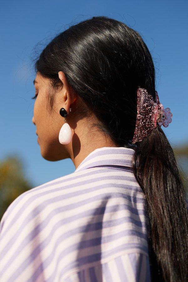Valet Studio Valentina Earrings - Pink
