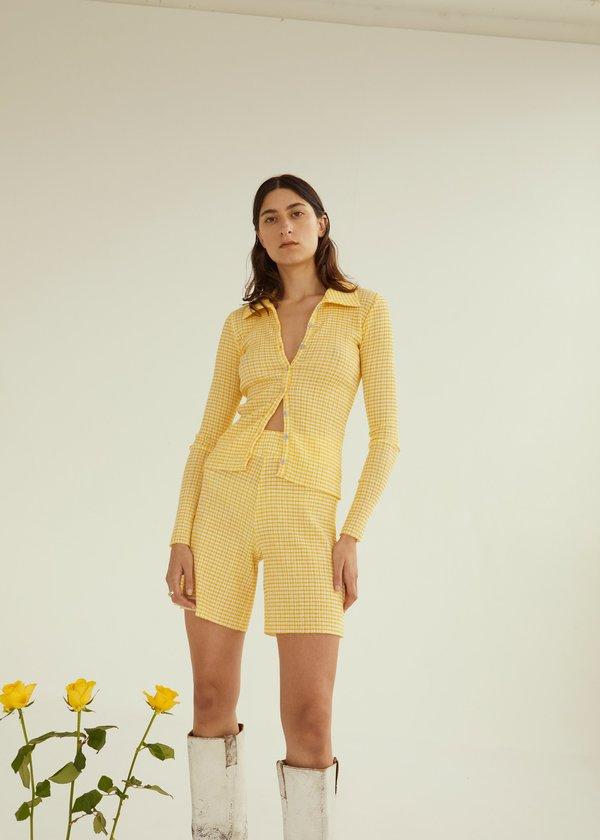 Ritual Cardigan ~ Yellow