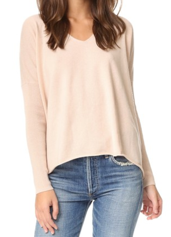 Florence Sweater in Blush Demylee 2018 Unisex Cheap Online Cost Online Excellent For Sale dcslp7R