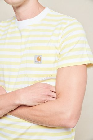 CARHARTT WIP Scotty Stripe Pocket T-Shirt