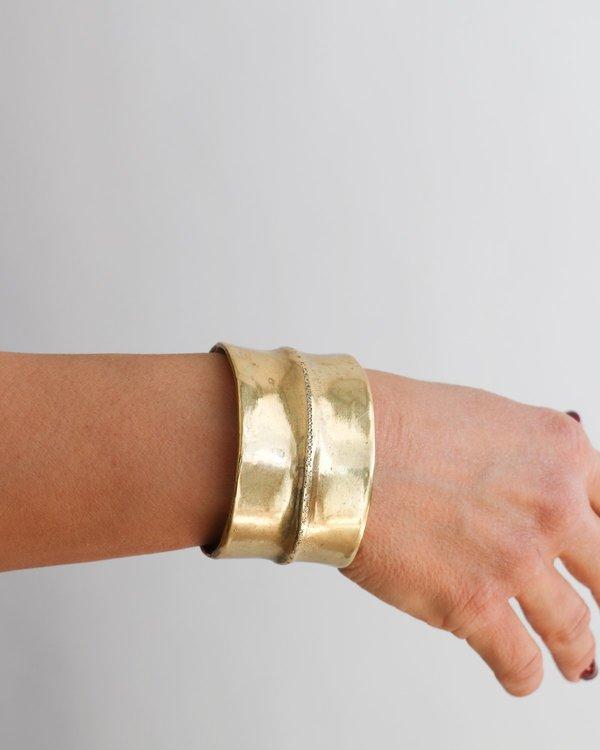 Scoscha Diamond & Brass Cuff
