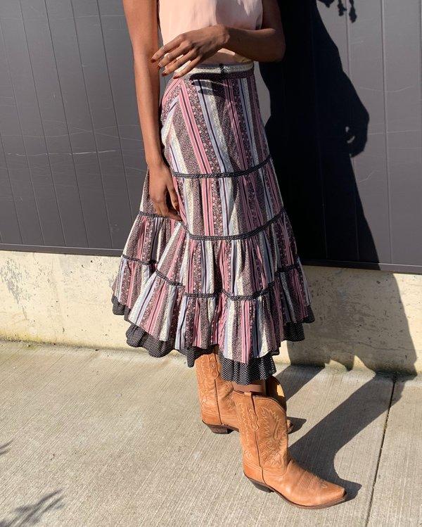 Gunne Sax Layered Skirt