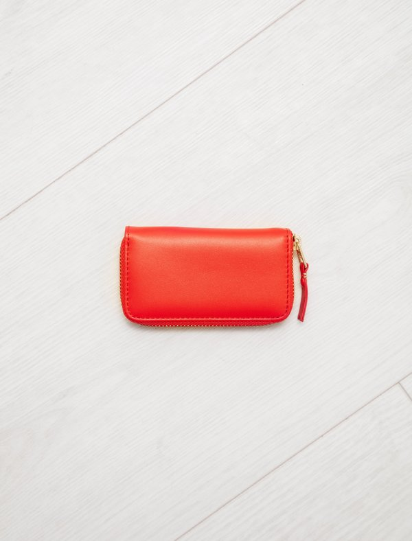 Comme des Garçons Small Rectangular Coin SA410X Wallet - Orange