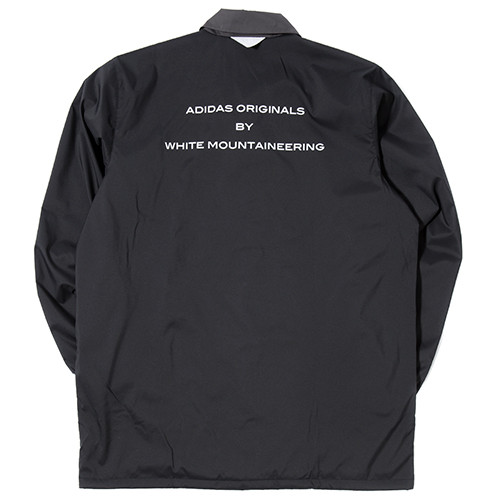 Adidas By White Mountaineering Long Bench Jacket Black