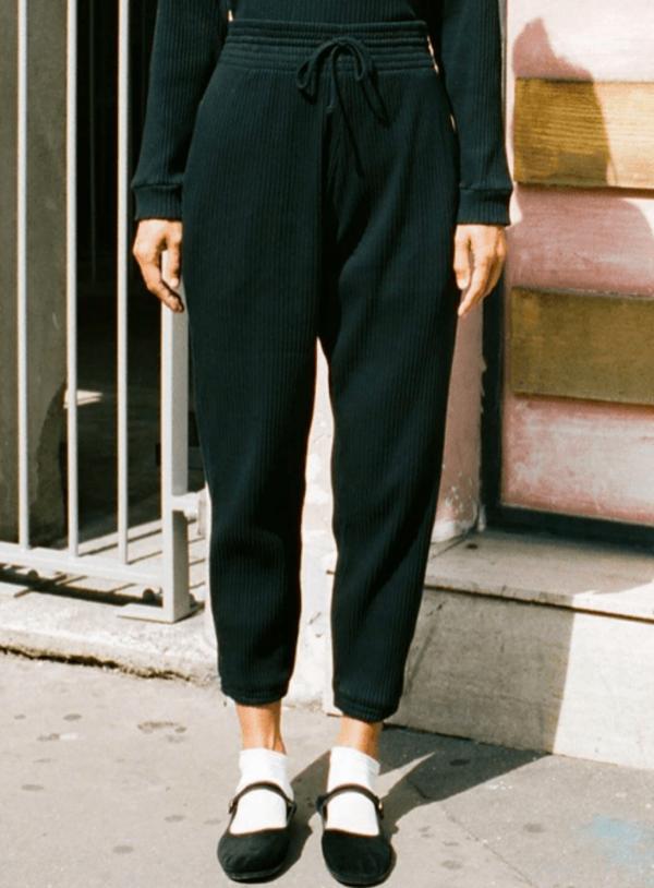 Basic Sweat Pant Black