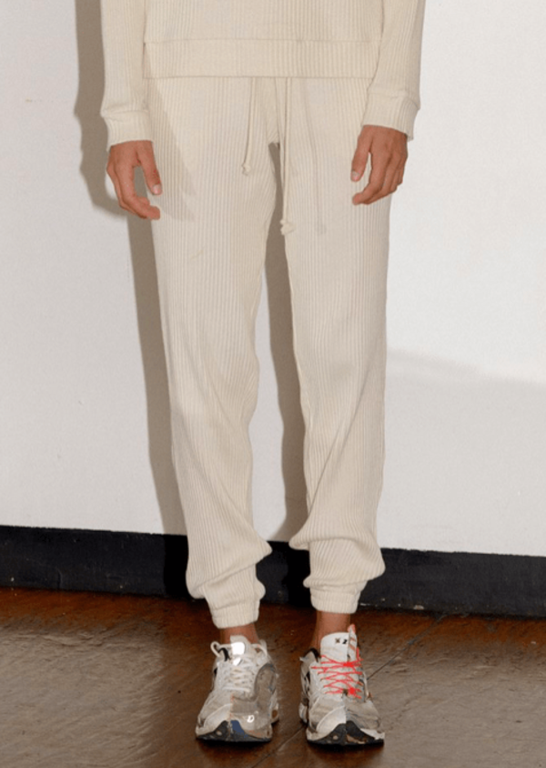 Basic Sweat Pant Off White