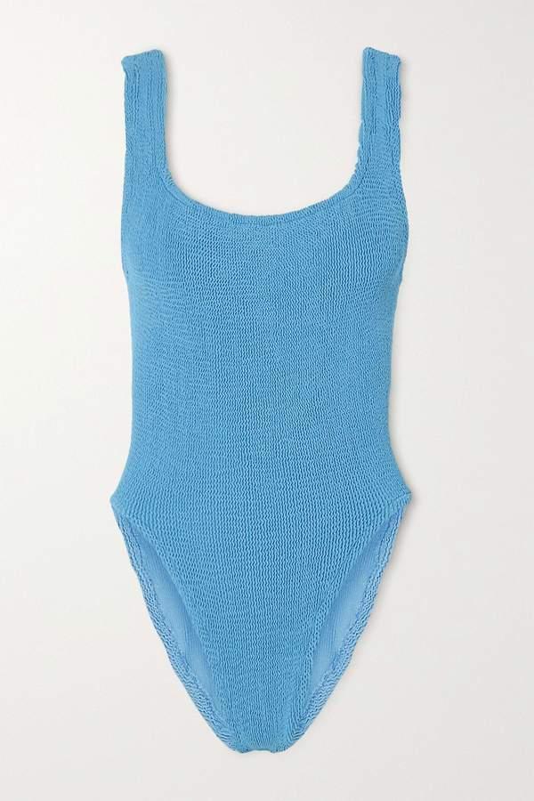 Classic Square Neck Swim - Sky Blue