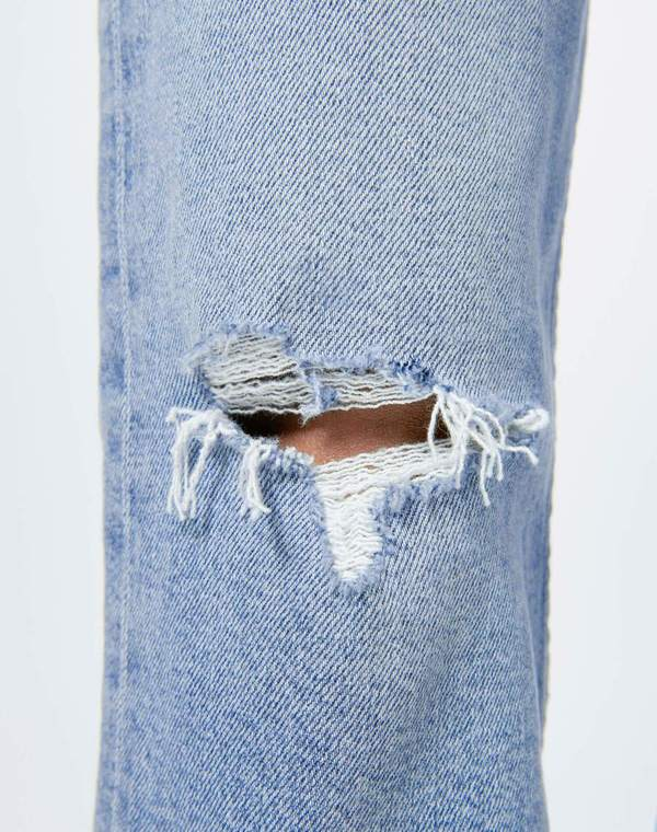 RE/DONE Comfort Stretch Stove Pipe Jean - Cloudy Blue