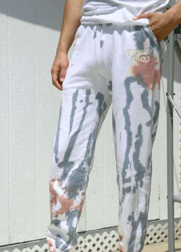 Don't Trip Tie Dye Sweatpants