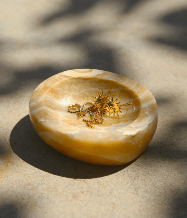 Energy Infused Yellow Calcite Bowl