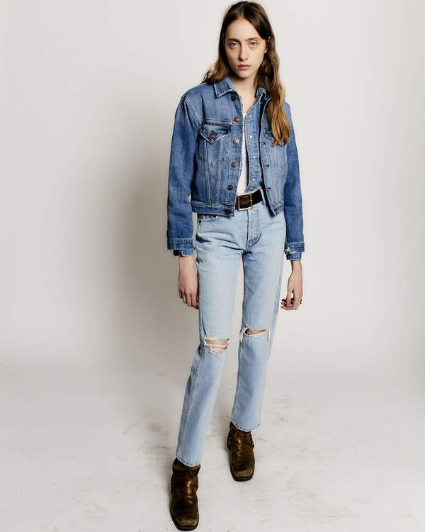 High Rise Loose Ripped Jeans