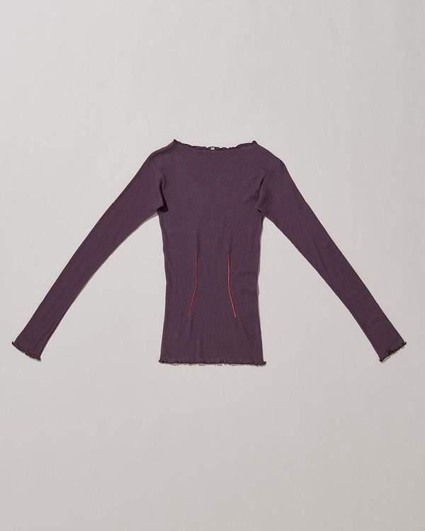 Baserange Oba Long Sleeve - Purple