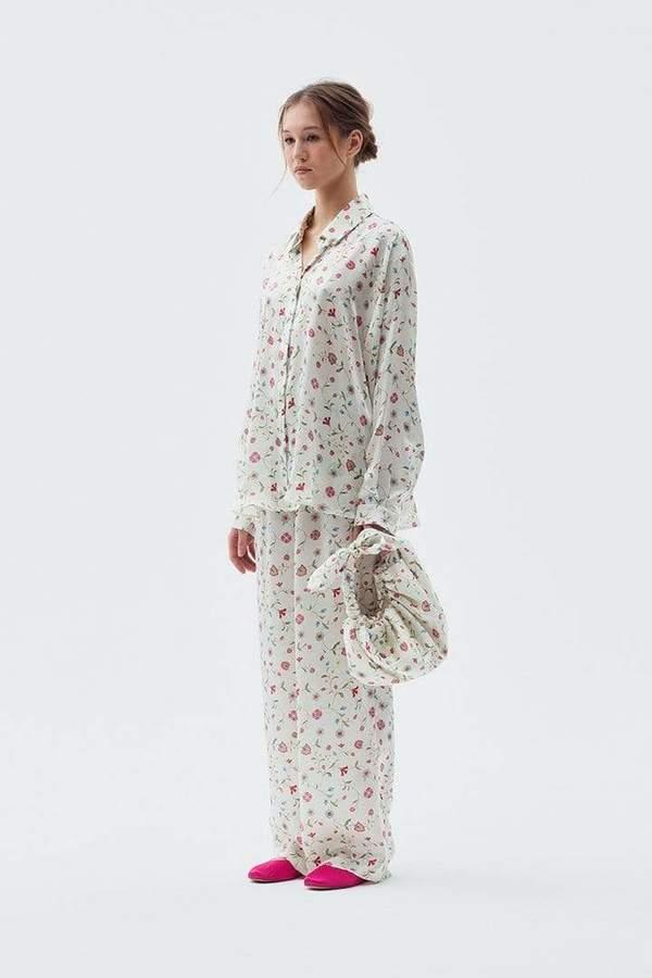Azi Land Sana Shirt - White