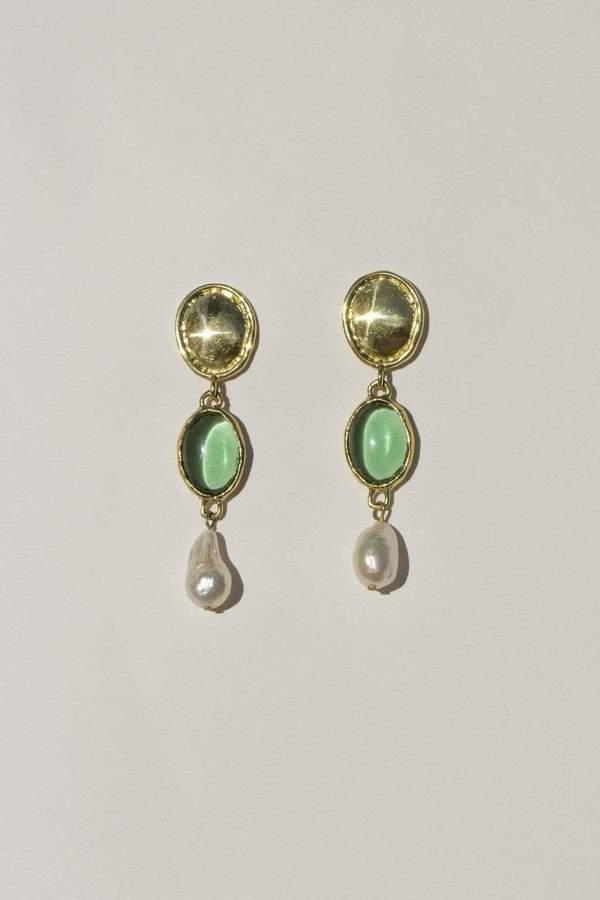 Mondo Mondo Sirena Earrings - Green