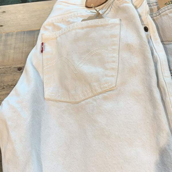 Vintage Levi's White Denim