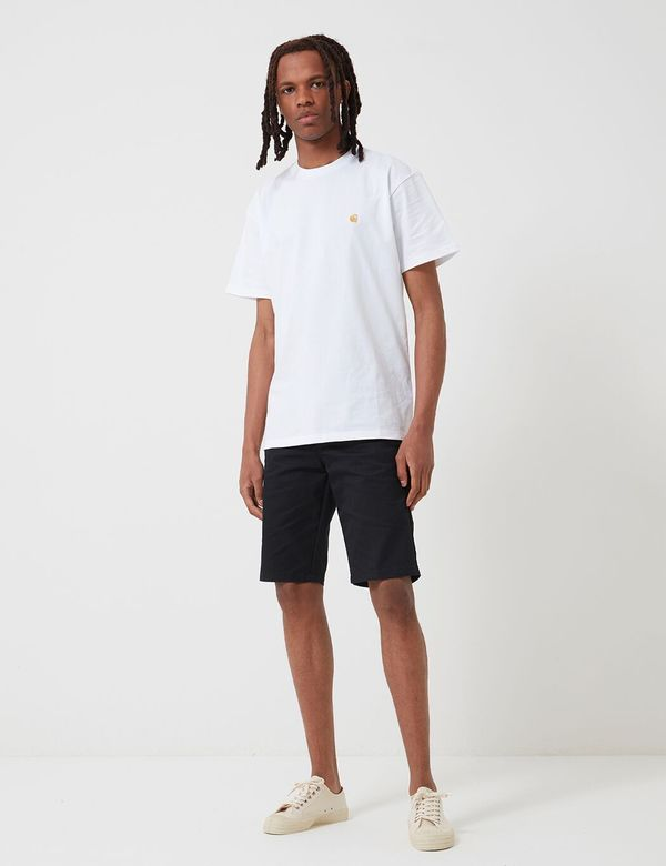 Carhartt-WIP Sid Shorts (Stretch Twill) - Black Rinsed