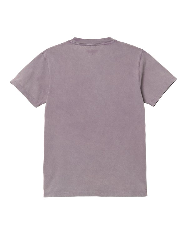 Camiseta W SS Mosby Script - Provence (Acid Wash)