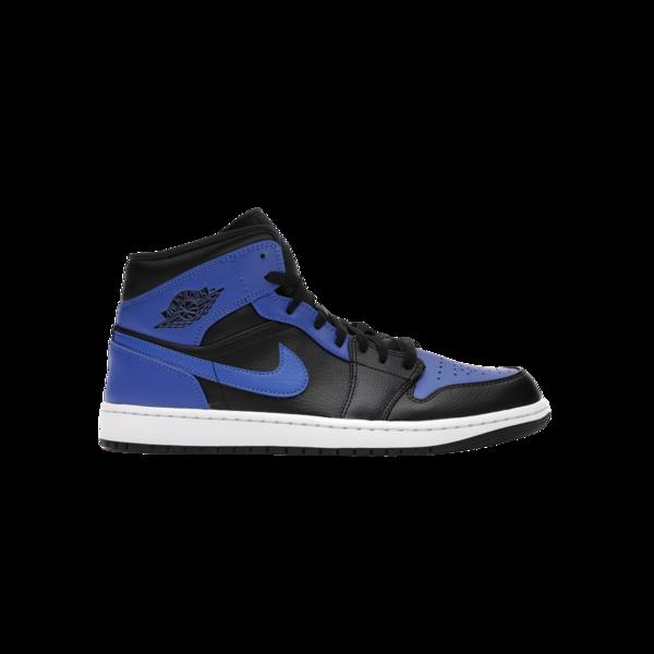 "Nike Air Jordan 1 MID ""Hyper Royal"" for Men 554724-077"