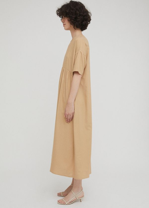 Camel maxi dress