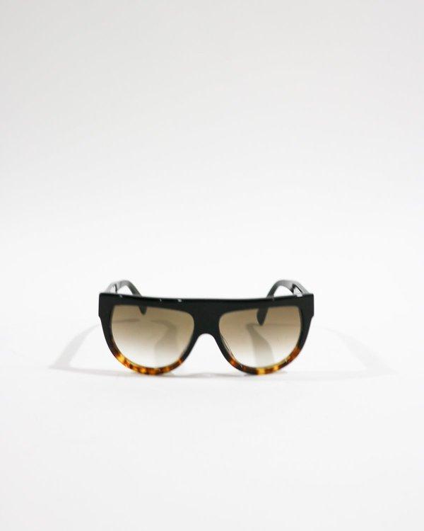 Celine Flat Top Aviator Sunglasses