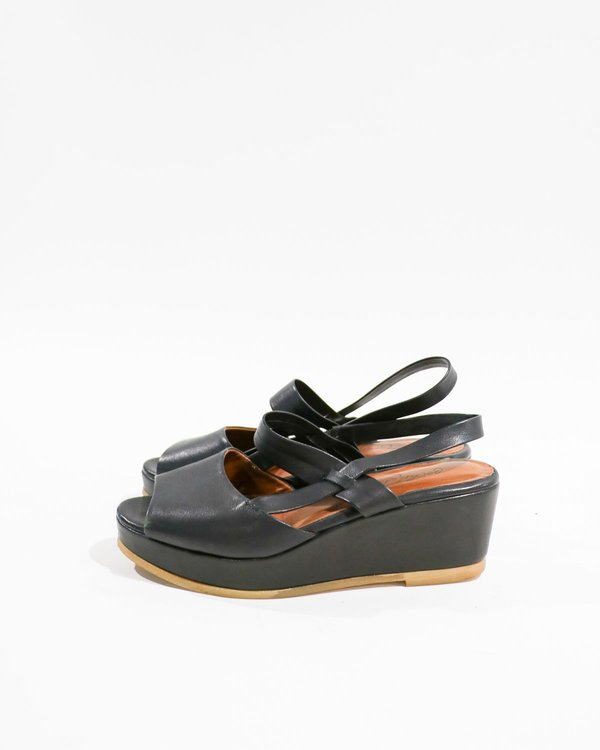 [Pre-loved] Rachel Comey Leather Wedge Sandals