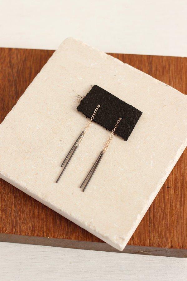 CLP  threader earrings