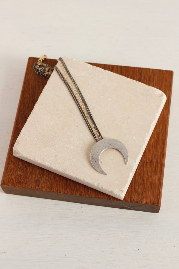 CLP Crescent moon necklace
