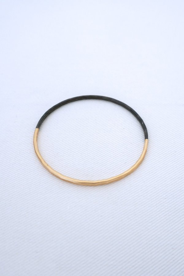 CLP Sterling and gold Filled Bangle