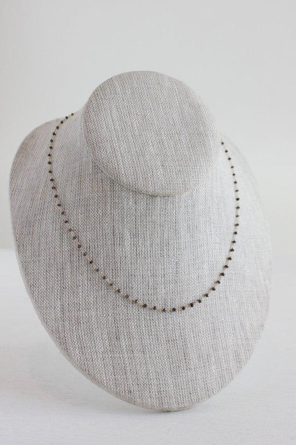 Dawn Bryfogle black diamond necklace