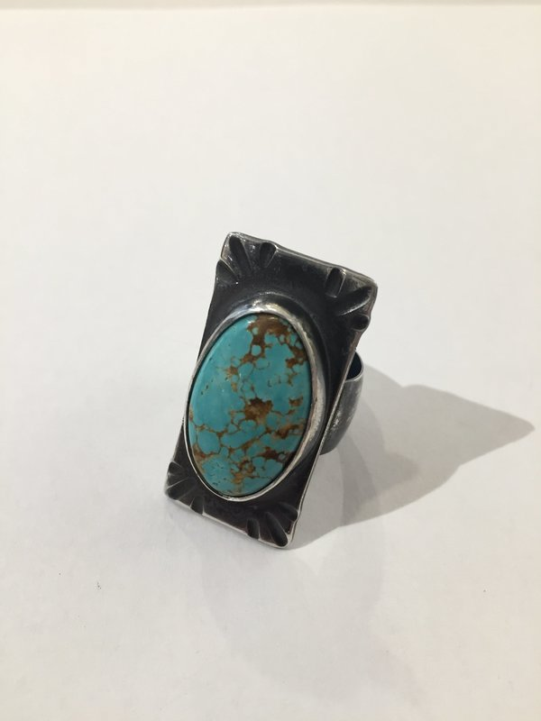 India Wysong Retro Chief Turquoise Ring