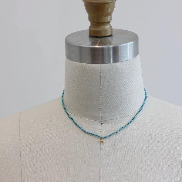 Kakoon #8 Turquoise necklace