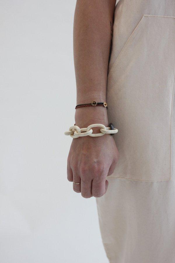 Parts of Four Toggle Bone bracelet