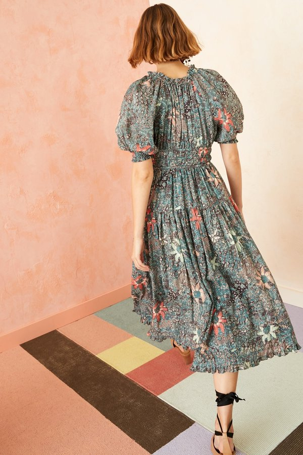 Ulla Johnson Indah Dress - Malachite