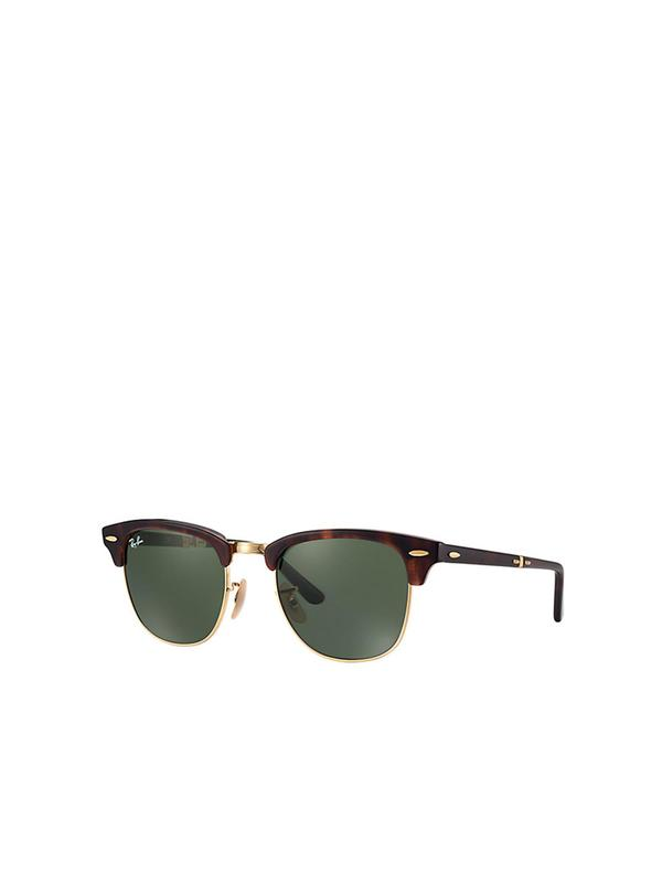 RB 2176 990 RED HAVANA _ Crystal Green 51 SIZE