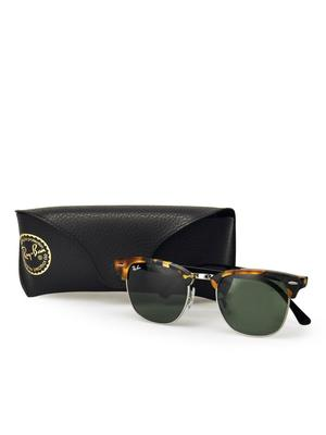 RB 3016 1157 SPOTTED BLACK HAVANA_Green Classic