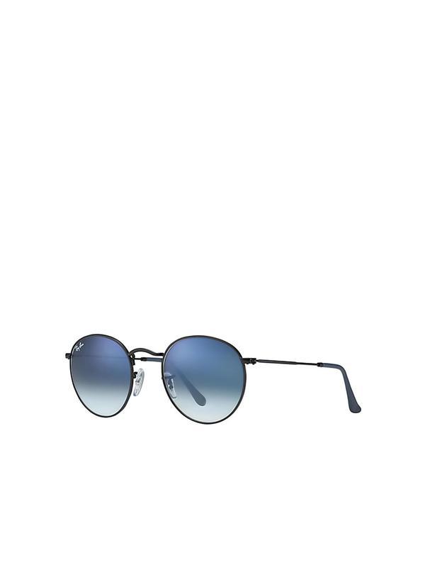 RB 3447 006/3F MATTE BLACK_Light Blue 50SIZE