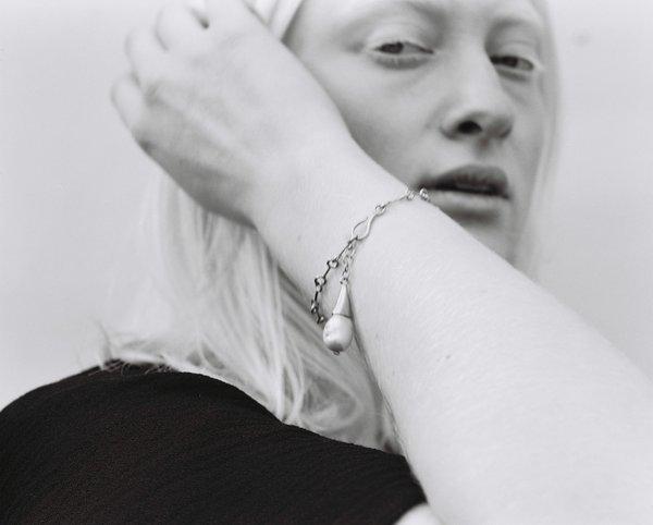 Wave Bracelet, Silver