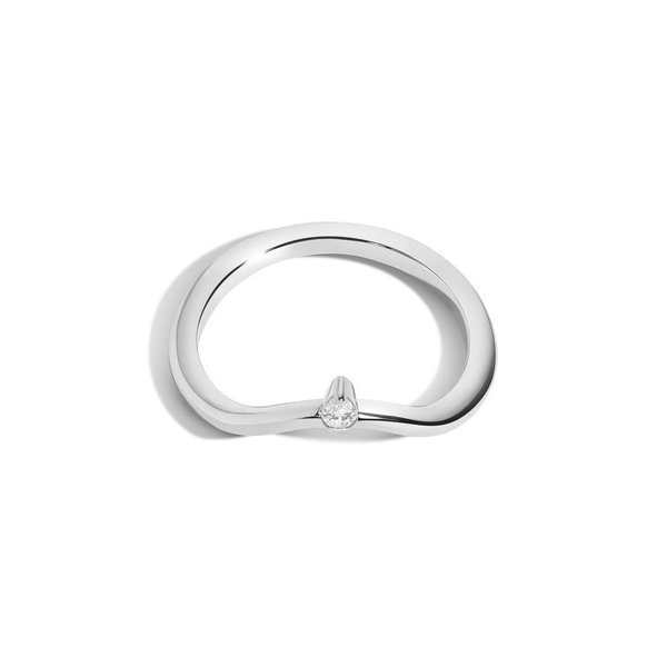 Curved Band w/ Pear - NEW
