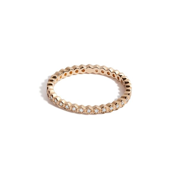 The Vessel Honeycomb Eternity Band - NEW