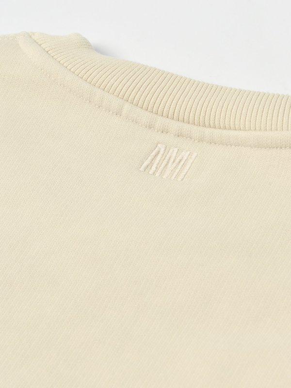 SWEATSHIRT AMI DE COEUR_OFF-WHITE/150