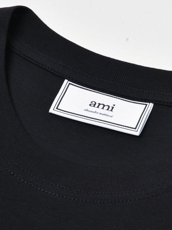 T-SHIRT AMI DE COEUR_NOIR/001