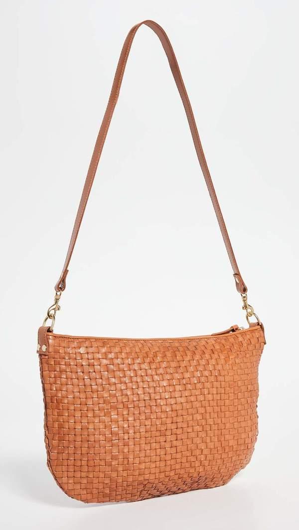 Clare V. Moyen Messenger bag - natural brown