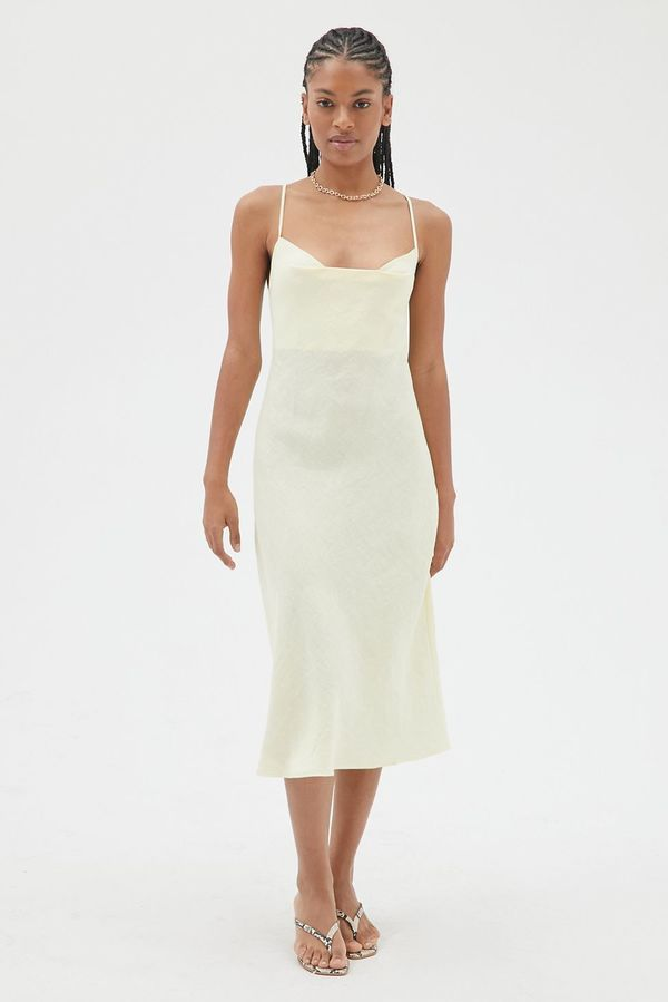 Angie Bauer Lark Dress - lemon yellow
