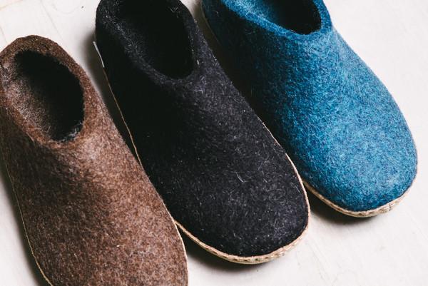 koan nyc danish wool slippers | Garmentory
